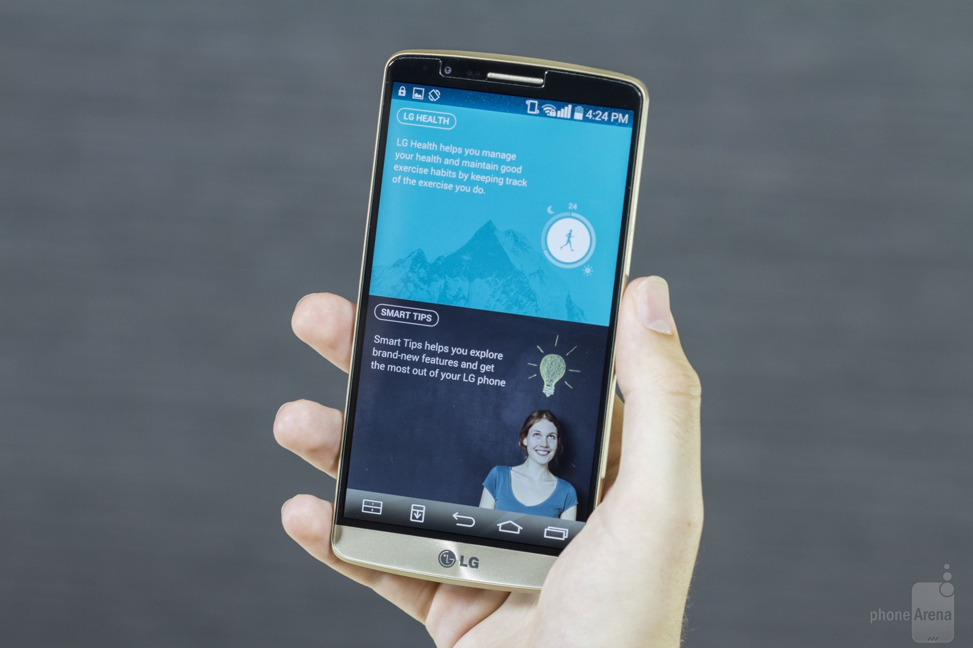 how to turn off flashlight on lg g3