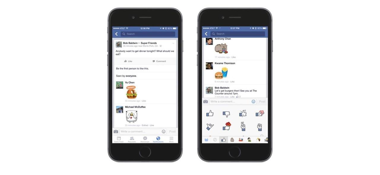 Facebook dodao stickere u komentare · Balkan Android