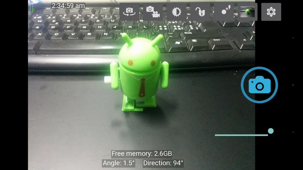 how to open camera in android programmatically