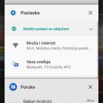 Xperia L3 recenzija UI