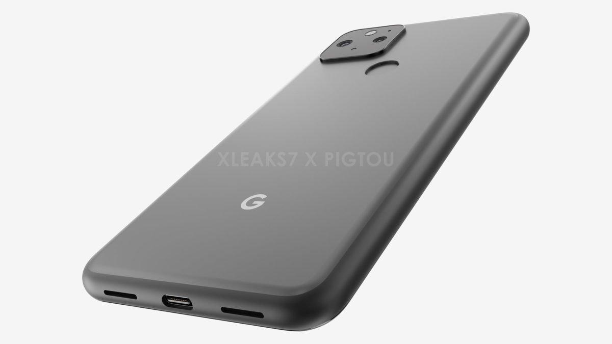Google Pixel 5 - Render