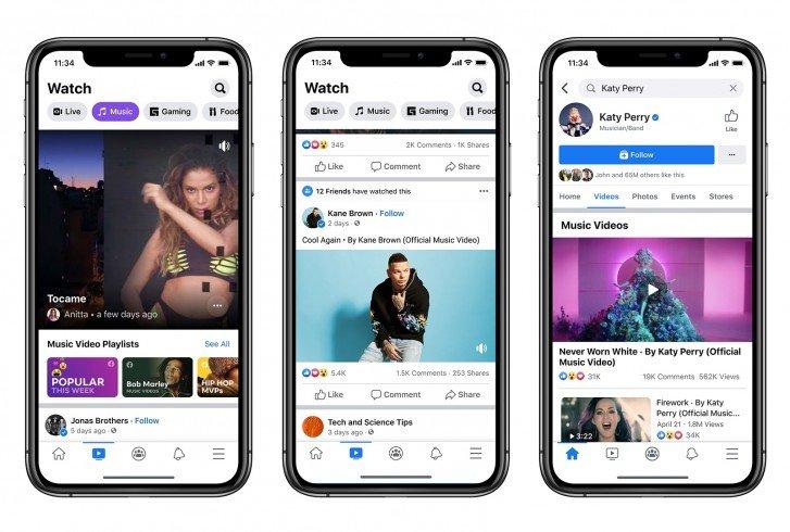 Facebook Music Video